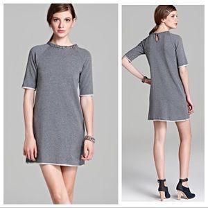 Bailey 44 Jewel Neckline Sweatshirt Dress